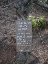 Hanakapiai_warning